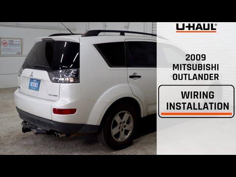 2009 Mitsubishi Outlander Wiring Harness Installation