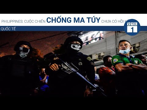 Philippines: Cuộc chiến chống ma túy chưa có hồi kết | VTC1 - Thời lượng: 77 giây.