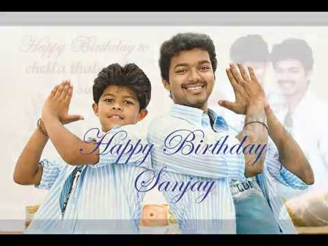 Video Ilayathalapathy Vijay Praises his son Sanjay on his Birthday - 26.08.2015 - Happy Birthday Sanjay! download in MP3, 3GP, MP4, WEBM, AVI, FLV January 2017