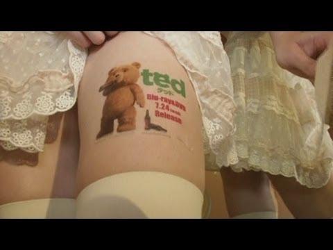 日本少女「賣大腿」,露「絕對領域」廣告任人看!