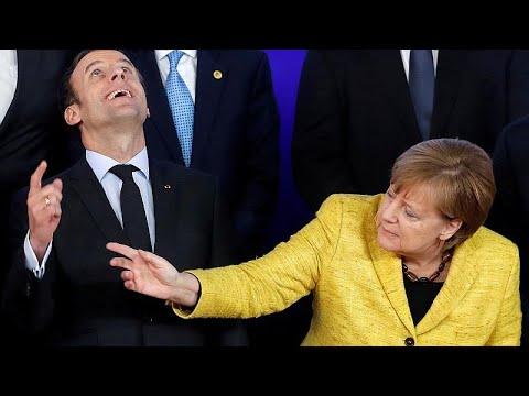 Συνάντηση Μέρκελ-Μακρόν με φόντο τις μεταρρυθμίσεις στην ΕΕ…