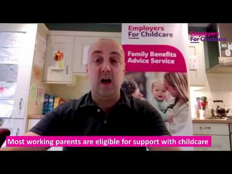 Most working parents are entitled to support with childcare costs