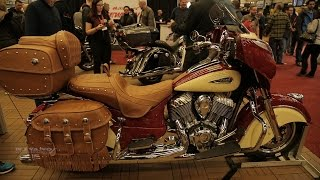 10. 2017 Indian RoadMaster Classic - Canada Premiere - Unveiling and Walkaround - 2017 Montreal