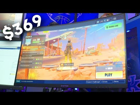 1440p 144hz Curved Budget Gaming Monitor | Viotek GN27D