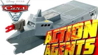 Cars 2 BATTLE STATION ACTION AGENTS