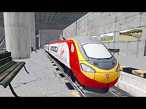 Train Sim - Metropolis Using 390 Pendolino - Simulasi Kereta Api