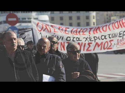 Συγκέντρωση διαμαρτυρίας στο λιμάνι του Πειραιά πραγματοποίησαν οι ναυτικοί