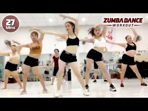Burning 500 Calorie Aerobic Workout l Full Body Weight Loss And Toning l Zumba Dance Workout