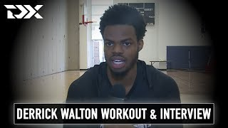Derrick Walton Pre-Draft Workout and Interview