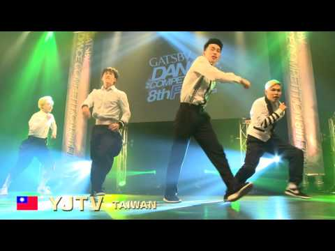 【GDC 8th】GATSBY DANCE COMPETITION 2015-2016:ASIA GRANDFINAL/YJTV【TAIWAN】