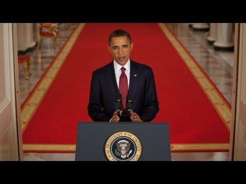 Barack Obama announces Osama Bin Laden&#039;s death