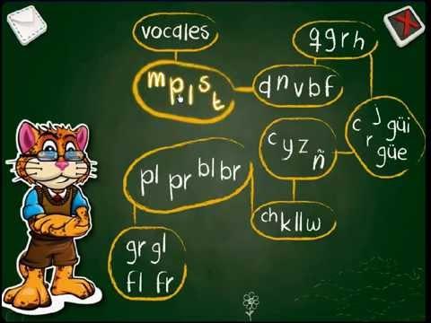 juego para aprender las vocales y consonantes Kinder 3