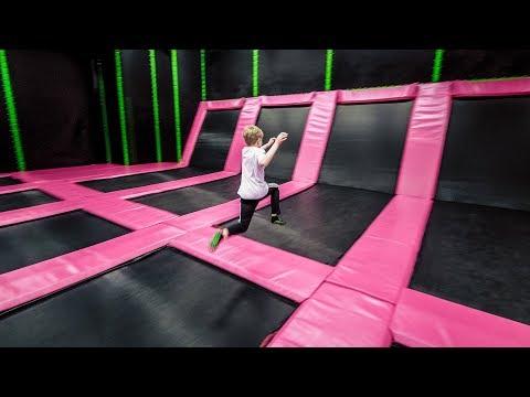 Indoor Playground Trampoline Park Fun for Kids