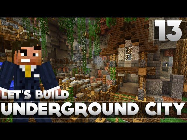 Minecraft Lets Build A Underground Base
