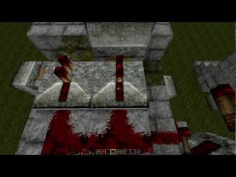 |Minecraft Механизмы| Урок №2: Шлюзовые двери (для GKrond)