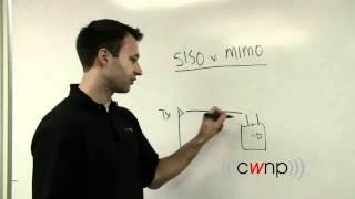 SISO vs MIMO (Marcus Burton, CWNP)