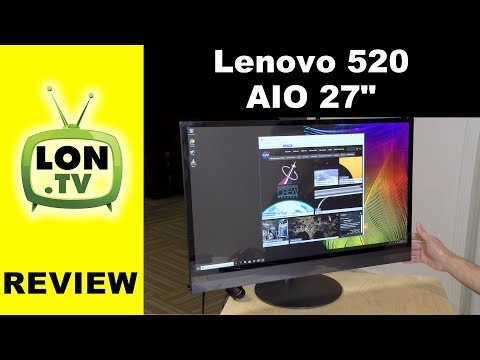 Lenovo Ideacentre 520 All in One 27 Inch Desktop PC Review