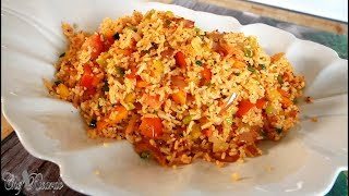 Vegetable Stir Fry Rice Best Recipe For Back To School   Chef Ricardo Cooking