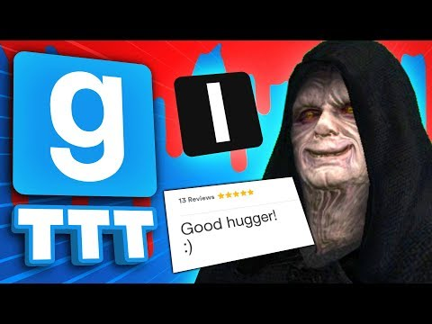HE'S THE HUGGING ZOMBIE | Gmod TTT