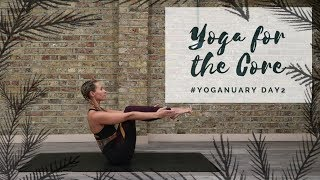 Video DAY 2: YOGA FOR THE CORE | Yoganuary Yoga Challenge | CAT MEFFAN MP3, 3GP, MP4, WEBM, AVI, FLV Maret 2018