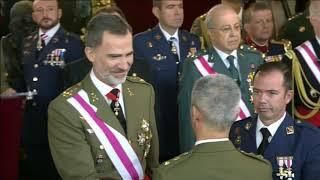 Entrega de condecoraciones en la Pascua Militar