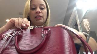 Watch my highly requested review on Alma Epi PM size and what fits in it Fuschia color! Enjoy!!!