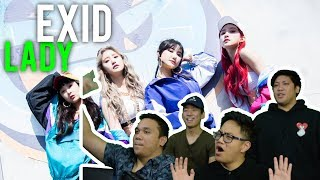 "Video EXID calls out ""LADY"" (MV Reaction) MP3, 3GP, MP4, WEBM, AVI, FLV April 2018"