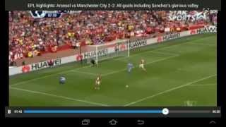 Arsenal Vs Manchester City 2-2  All Goals And Highlights 13-09-14