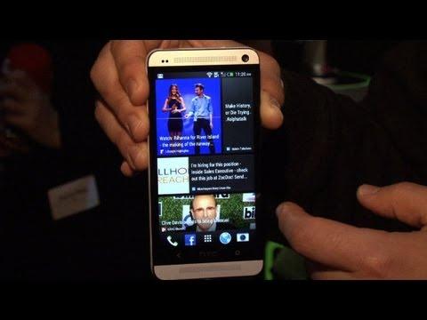 New HTC One 發表會現場 實機上手操作