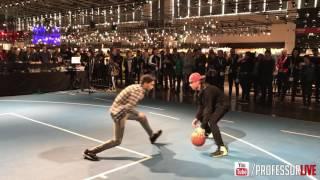 The Professor vs Fans in Germany at ISPO