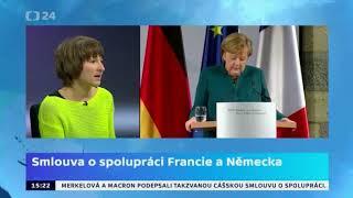 Smlouva o spolupráci Francie a Německa