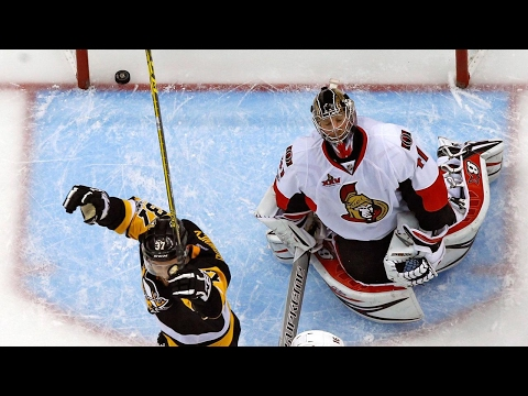 Video: Penguins batter Senators to take 3-2 series lead