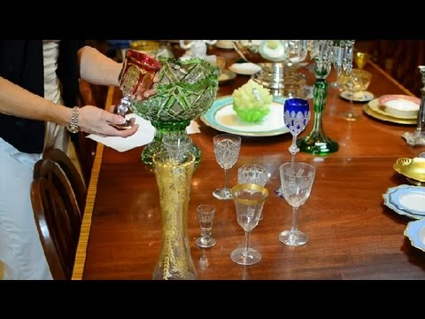 How to Appraise Glassware : Antique Glassware, Pottery & More