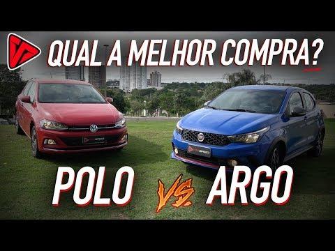 VW Polo VS Fiat Argo! Qual a melhor Compra?!  | Top Speed