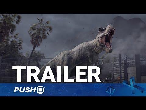 Jurassic World Evolution PS4 Reveal Trailer | PlayStation 4 | Gamescom 2017