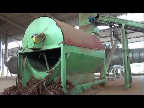 Peneira Rotativa para Biomassa Lippel - Classificação e reaproveitamento de resíduos