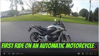 9. 2016 Honda NC700X Automatic?? first test drive:srkcycles.com