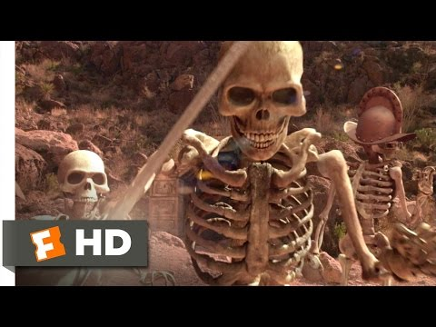 Spy Kids 2: Island of Lost Dreams (2002) - Skeleton Battle Scene (8/10) | Movieclips