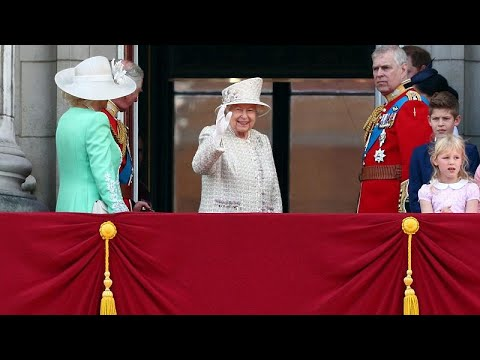 Großbritannien: Die Queen feiert ihren 93. mit der Militärparade »Trooping the Colour«