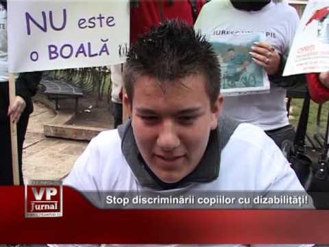 Stop discriminării copiilor cu dizabilități