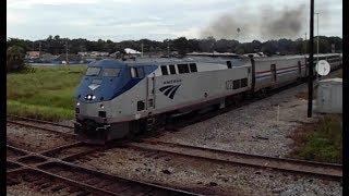 Plant City (FL) United States  city photos gallery : Amtrak & CSX Trains @Plant City, FL | Railfanning 8/9/2016