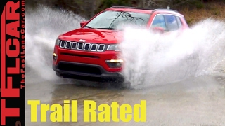 2017 Jeep Compass Sneak Peek Review: It's a Jeep Crossover Thing! by The Fast Lane Car