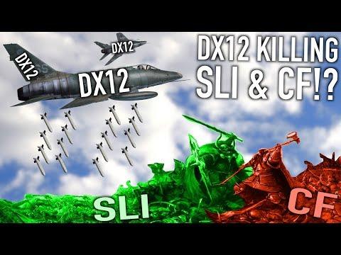 Is DirectX 12 Killing SLI & Crossfire Gaming?
