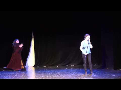 Капустник в честь Дня театра, 27.03.2014 (видео)
