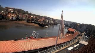 Whitby Wed 22nd Apr 2015 24-Hour Time-lapse (Upriver)
