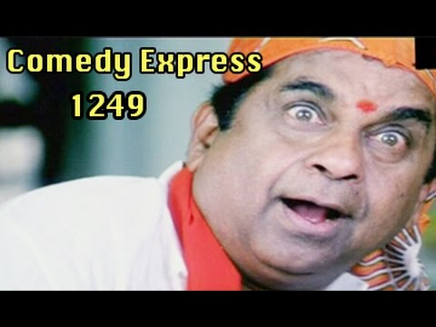 Comedy Express 1249 || Back to Back || Telugu Comedy Scenes