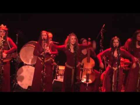 "Mediaeval Baebes – ""Yonder Lea"" – Live in Williamsburg, Brooklyn, NY"