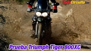 8. Triumph Tiger 800XC 2013: Prueba a fondo [FullHD]