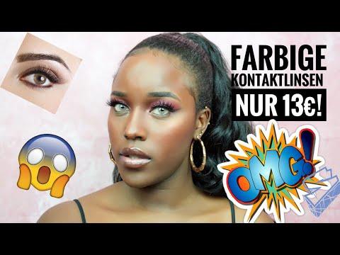 Farbige Kontaktlinsen x ColorCl | Meine Farblinsen | 6 Monate für 13€!!!| 😱😱BeautybyV