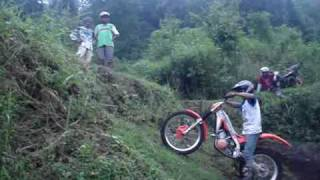 Magelang Indonesia  City pictures : trials motor Indonesia, Muntilan, Magelang